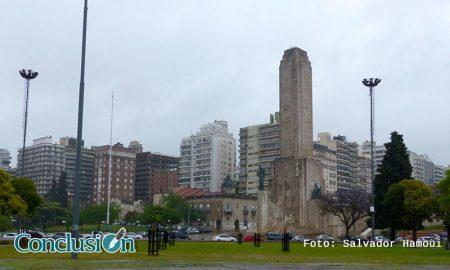 Lluvia en Rosario