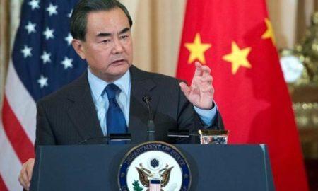 Ministro de Exteriores Chino, Wang Yi