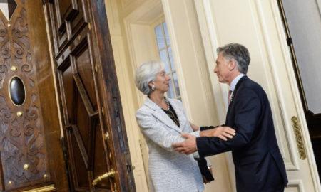 Elogios entre Lagarde y Macri