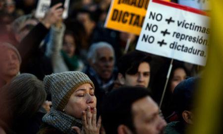 Protesta contra Maduro en Madrid