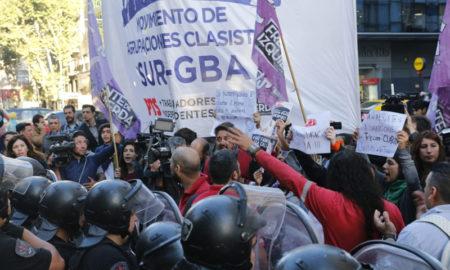 Protesta en Bs.As.