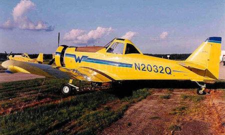 Avioneta fumigadora