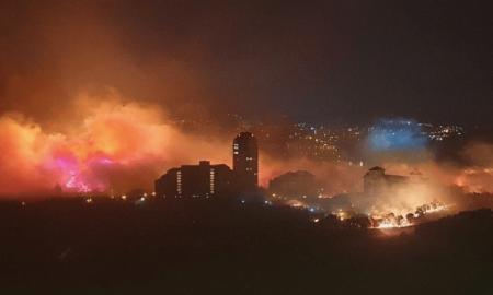 incendio en Corea del Sur