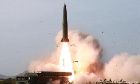 Lanzacohetes de corea del norte