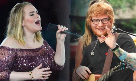 Adele y Ed