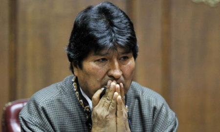 Evo Morales Interpol