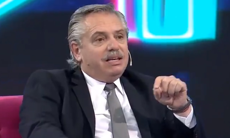 Fernández: «Ni conocían el proyecto de reforma judicial y estaban haciendo un banderazo en contra»