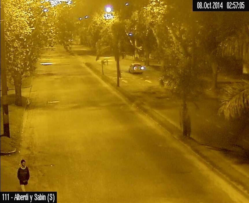 Se presentaron 10 videos que muestran a Franco Casco caminando por la ciudad luego de ser liberado de la comisaría 7ª