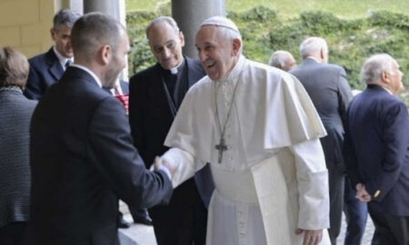 Guzmán y el Papa