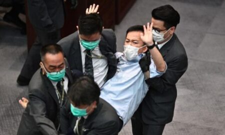 partido prodemocracia detención